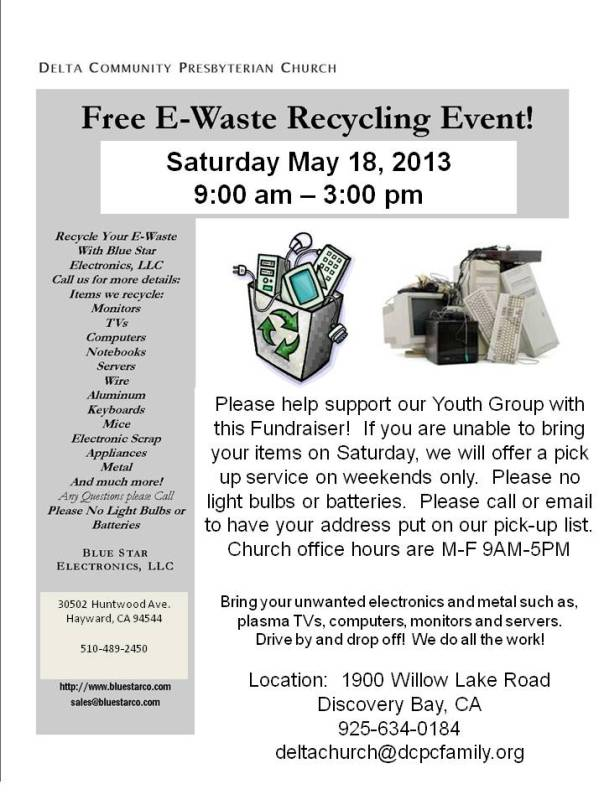E-Waste flyer Discovery Bay
